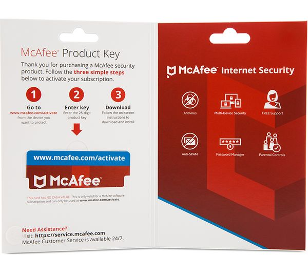 Mcafee Internet Security 2018 1 User 5 Devices For 1