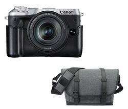 CANON EOS M6 Mirrorless Camera with EF-M 18-150 mm f/3.5-6.3 IS STM Lens - Silver