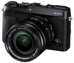 FUJIFILM X-E3 Mirrorless Camera with XF 18-55 mm f/2.8-4 R LM OIS Lens