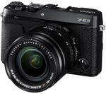 FUJIFILM X-E3 Mirrorless Camera with XF 18-55 mm f/2.8-4 Lens - Black