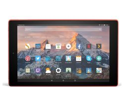 AMAZON Fire HD 10 Tablet with Alexa (2017) - 32 GB, Red