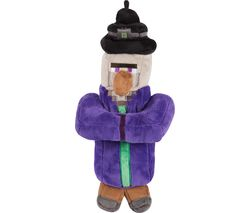 "MINECRAFT Witch Plush Toy with Hang Tag - 14"", Purple"