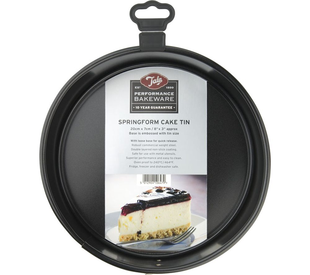 TALA Performance 20 cm Non-stick Cake Tin - Black