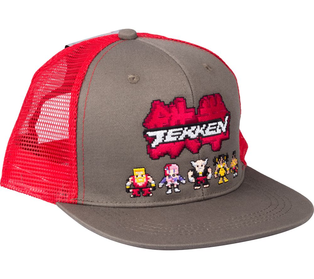 Image of VENOM Tekken Retro Baseball Cap - Red, Red