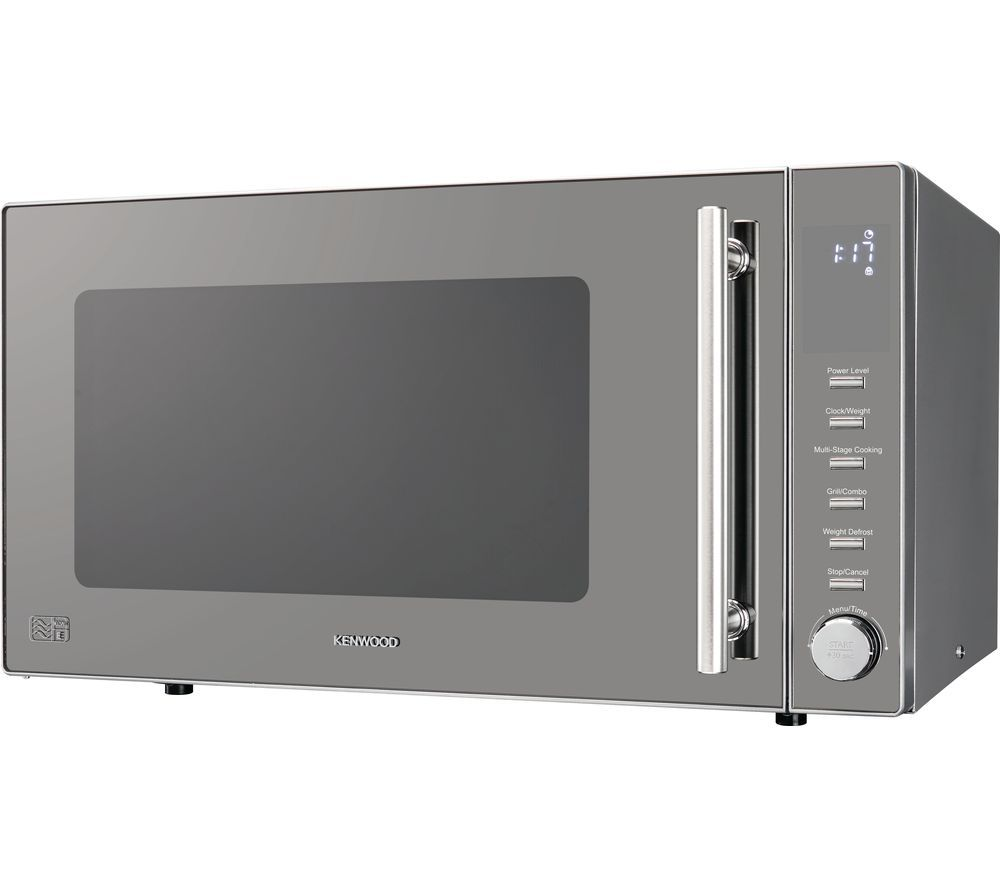 KENWOOD K30GMS18 Compact Microwave with Grill - Silver, Silver