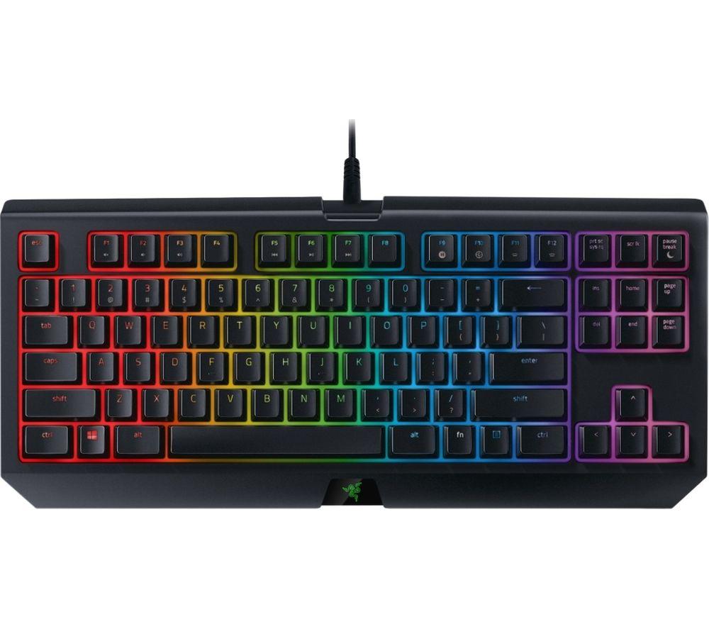 RAZER Blackwidow Tournament Chroma V2 Mechanical Gaming Keyboard