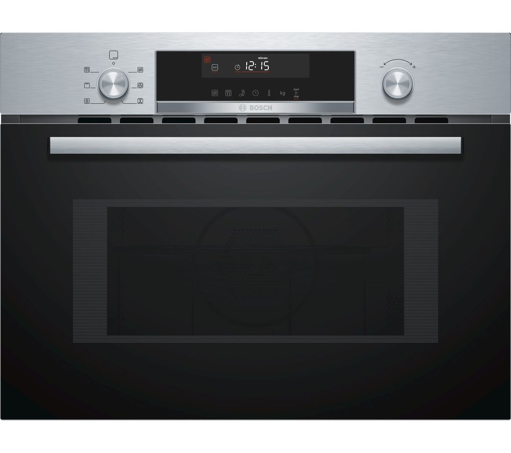 BOSCH Serie 6 CMA585MS0B Built-in Combination Microwave - Stainless Steel, Stainless Steel