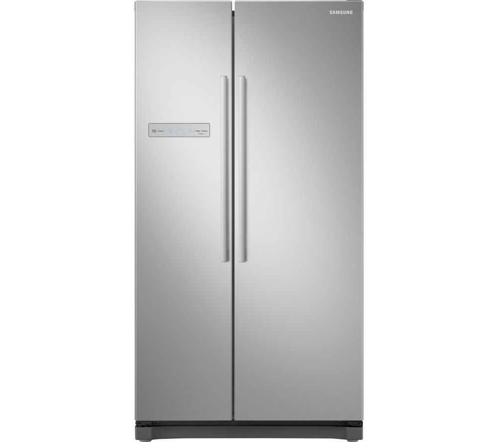 SAMSUNG RS3000 RS54N3103SA/EU American-Style Fridge Freezer - Metal Graphite