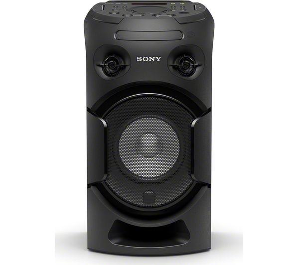 Buy SONY MHC-V21D Bluetooth Megasound Party Speaker - Black