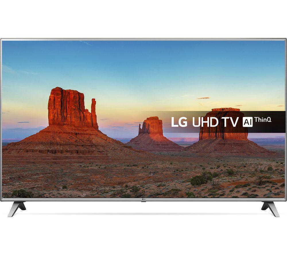 """LG 86UK6500PLA 86"""" Smart 4K Ultra HD HDR LED TV"""