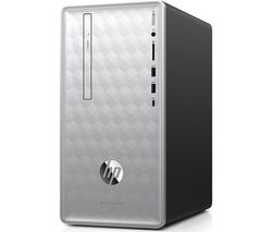 HP Pavilion 590-p0100na Intel® Core™ i5+ Desktop PC - 2 TB HDD, Silver