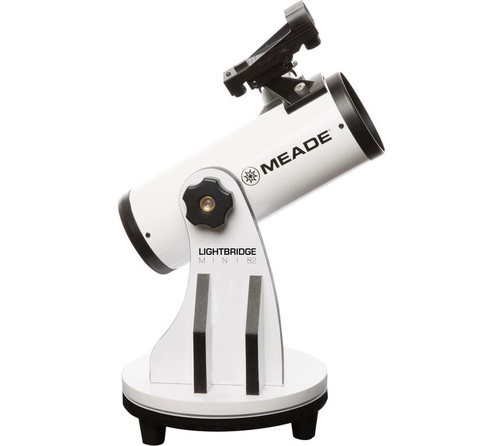 MEADE Lightbridge Mini 82 Reflector Telescope - White
