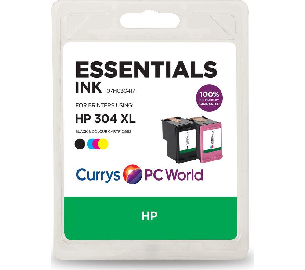ESSENTIALS HP 304XL Black & Tri-colour Ink Cartridges