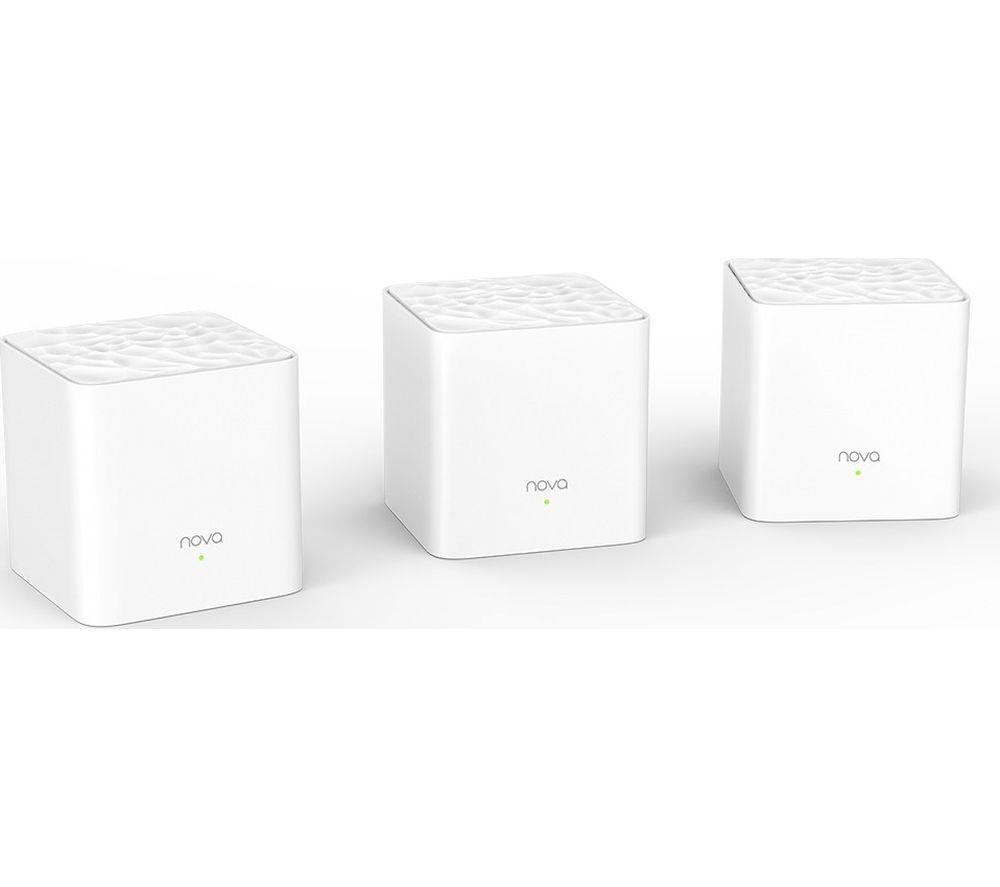Image of TENDA Nova MW3 Whole Home WiFi System - Triple Pack
