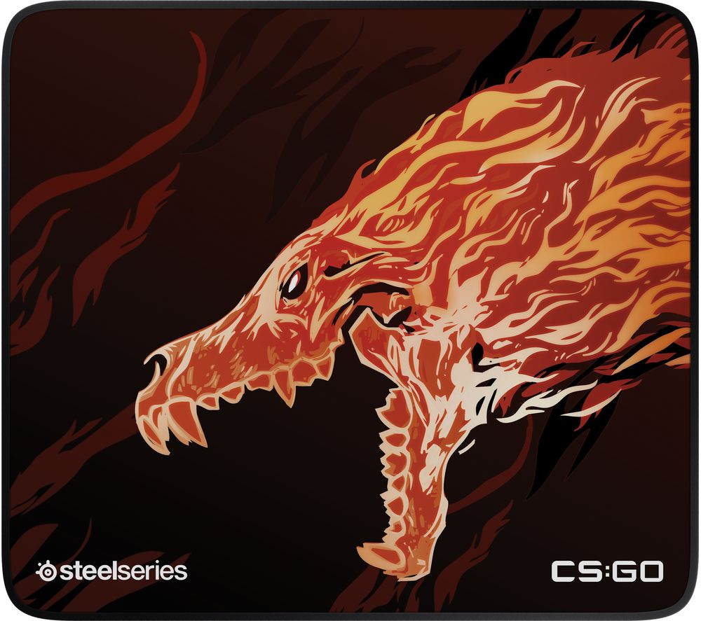 STEELSERIES CS:GO Howl Limited Edition QcK+ Gaming Surface