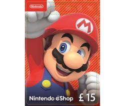 NINTENDO eShop Gift Card - £15