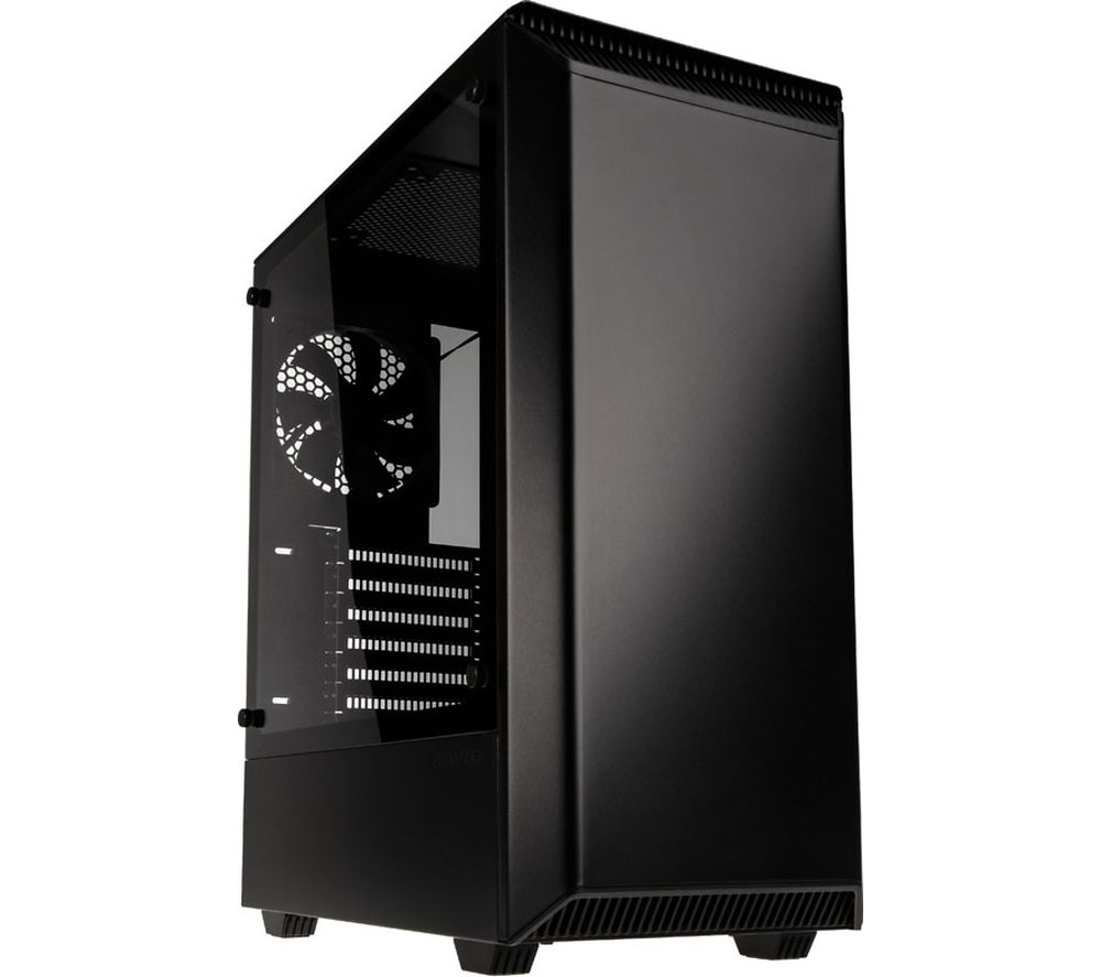Image of PHANTEKS Eclipse P300 E-ATX Midi-Tower PC Case - Black, Black