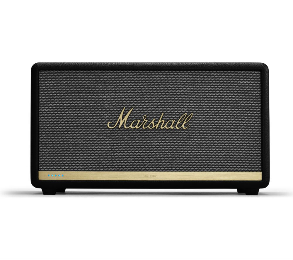 MARSHALL Stanmore II Wireless Bluetooth Speaker with Amazon Alexa - Black