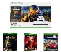 MICROSOFT Xbox One S, Anthem, Project Cars 2, Tekken 7 & Fallout 76 Bundle