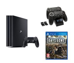 SONY PlayStation 4 Pro, Days Gone & Twin Docking Station Bundle - 1 TB