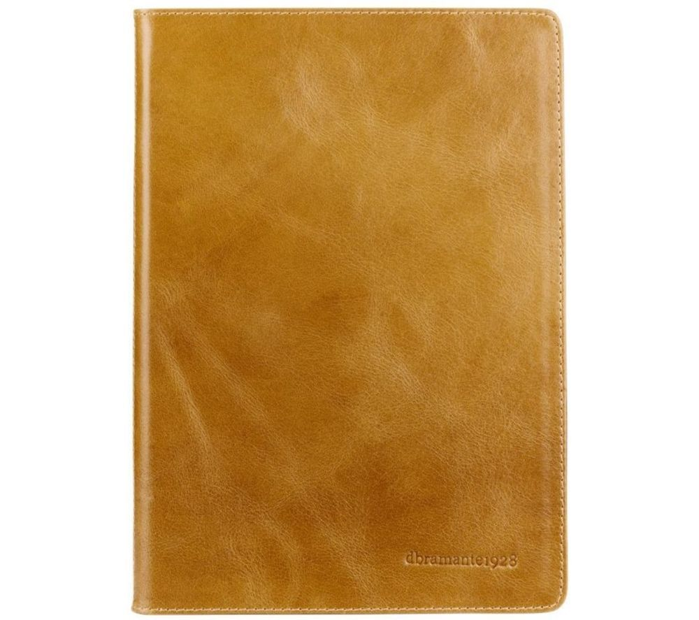 Image of DBRAMANTE Copenhagen 2 iPad 6th Gen Leather Case - Tan, Tan