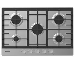 HOOVER HHG7MX Gas Hob - Stainless Steel