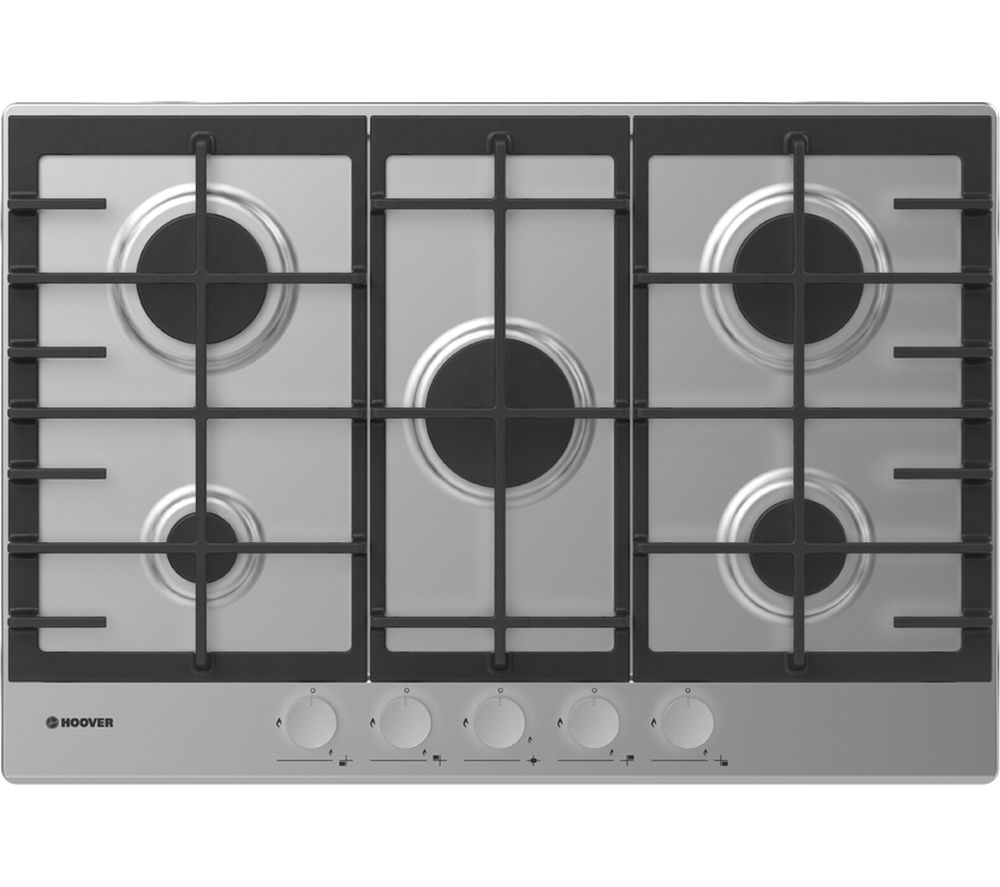 Image of HHG7MX Gas Hob - Stainless Steel, Stainless Steel