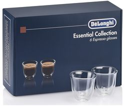 Essentials Collection DLKC300 Espresso Glasses - Pack of 6