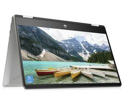 "HP Pavilion x360 14-dh0500sa 14"" Intel® Pentium® Gold 2 in 1 Laptop - 128 GB SSD, Silver"