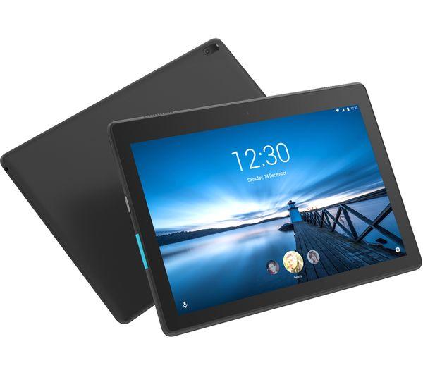 LENOVO Tab E10 Tablet - 16 GB, Black