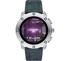 AXIAL DZT2015 Smartwatch - Gunmetal, Blue Strap