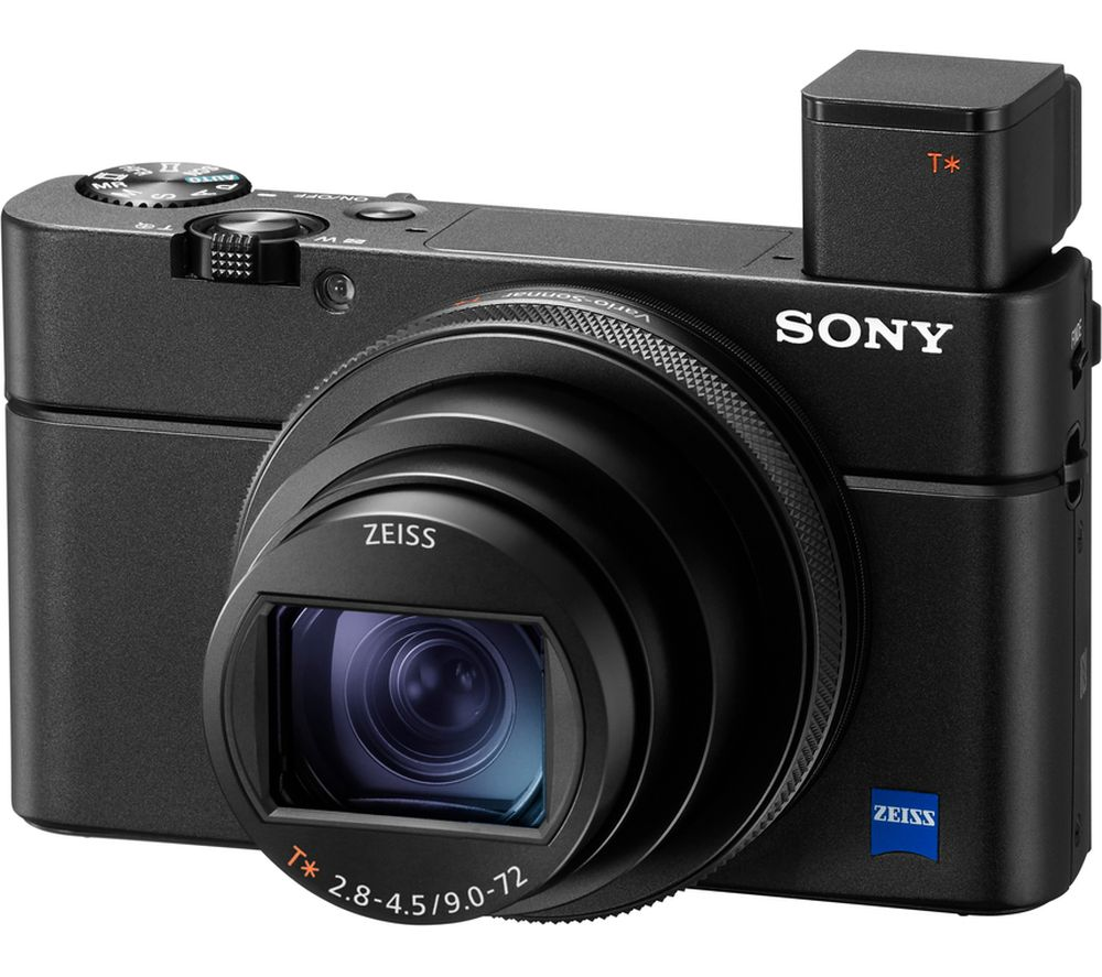 SONY Cyber-shot DSC-RX100 VII High Performance Compact Camera - Black