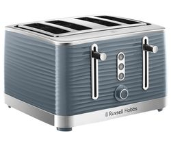 RUSSELL HOBBS Inspire 24383 4-Slice Toaster - Grey