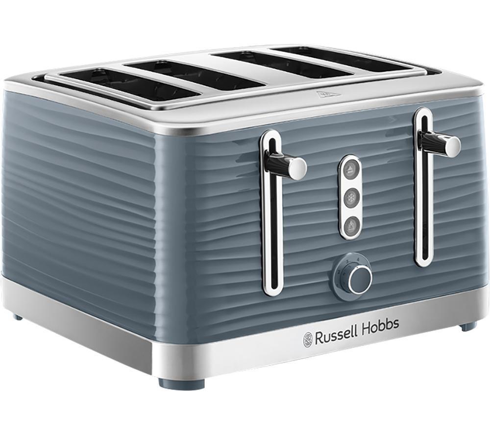 Inspire 24383 4-Slice Toaster - Grey, Grey