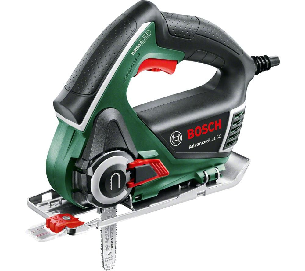 BOSCH AdvancedCut 50 NanoBlade Jigsaw - Green, Green