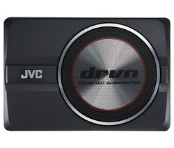 JVC CW-DRA8 Car Subwoofer - Black