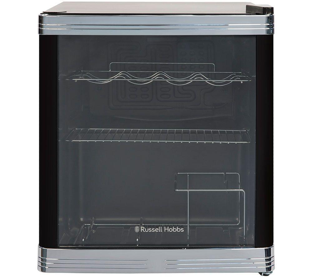 RUSSELL HOBBS RHGWC1B Drinks & Wine Cooler – Black, Black