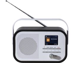 AVS1403 Portable DAB+/FM Radio - Black & White