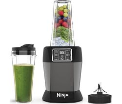 BN495UK Blender - Black & Silver