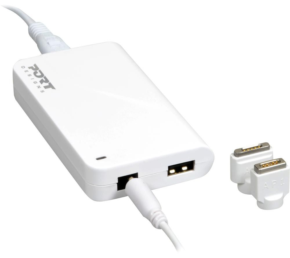PORT DESIGNS 60 W MagSafe 1 & 2 Power Adapter