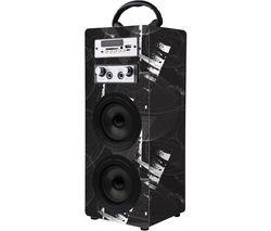 Carnival Series VK-3009-BK Portable Bluetooth Speaker - Black