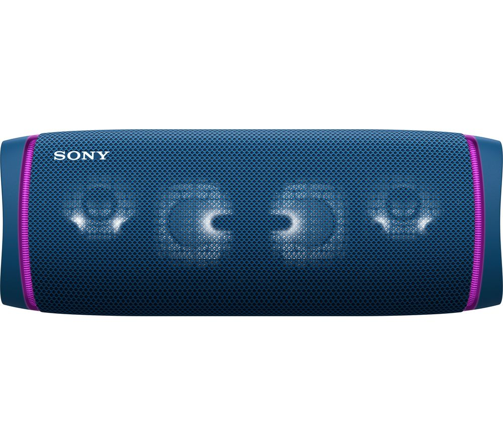 SONY SRS-XB43 Portable Bluetooth Speaker - Blue, Blue