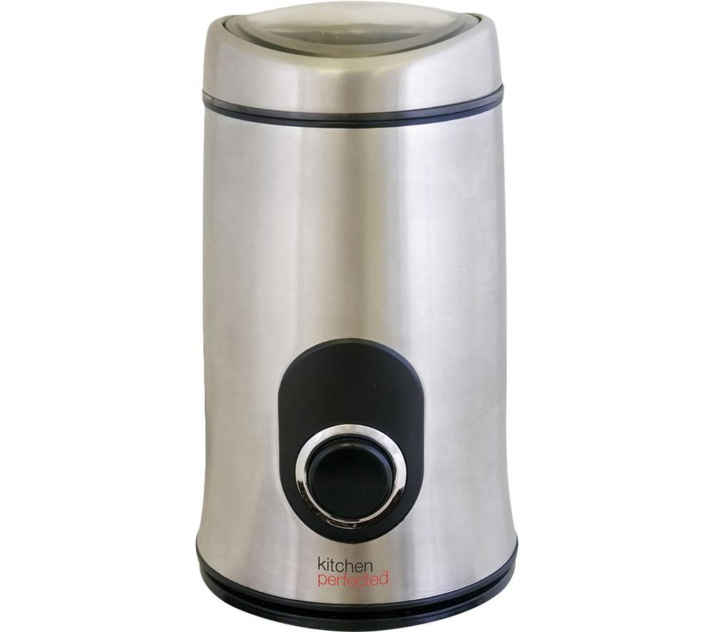 KITCHEN Perfected E5602SS Coffee Grinder - Brushed Steel
