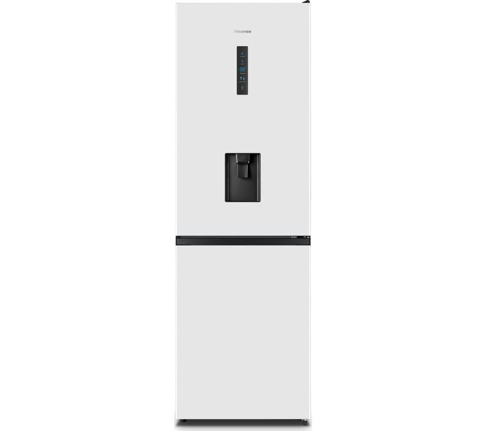 HISENSE RB395N4WW1 60/40 Fridge Freezer – White, White