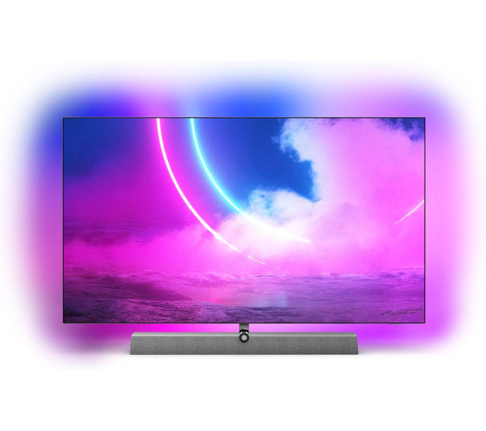 55 PHILIPS�Ambilight 55OLED935/12  Smart 4K Ultra HD HDR OLED TV with Google Assistant