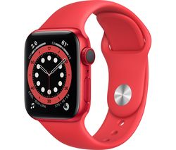 Watch Series 6 Cellular - PRODUCT(RED) Aluminium with PRODUCT(RED) Sports Band, 40 mm