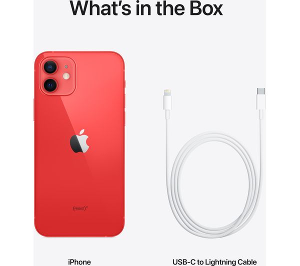 Apple iPhone 12 - 128 GB, (PRODUCT)RED 1