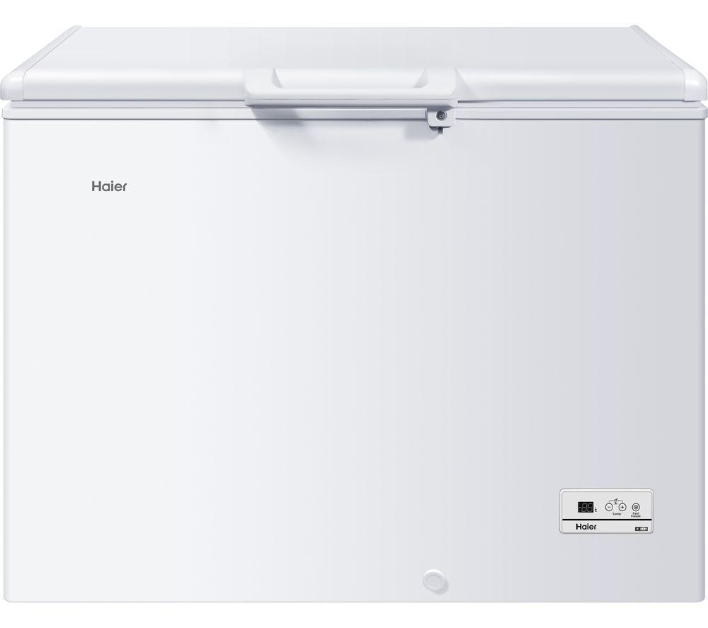HAIER HCE319F Chest Freezer - White, White