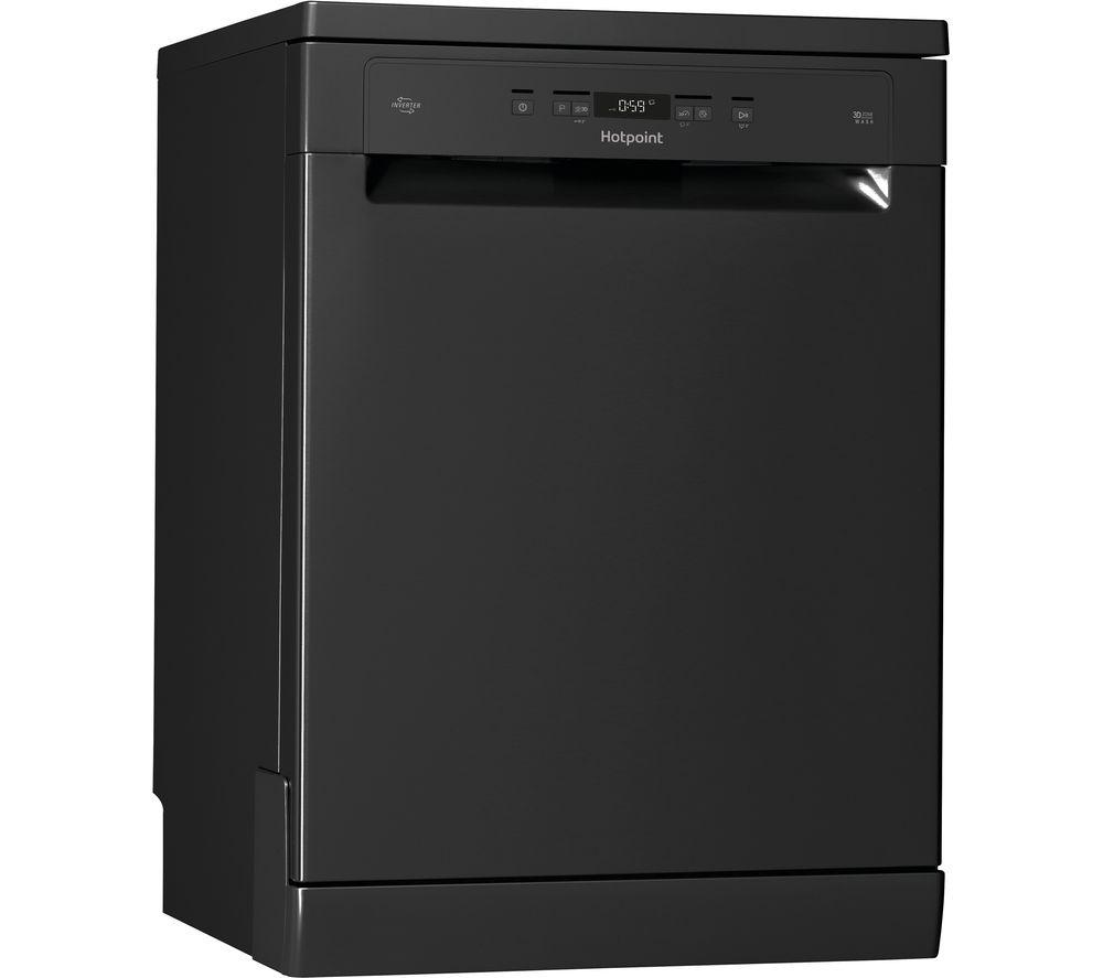 HOTPOINT HFC 3C26 WC B UK Full-size Dishwasher - Black