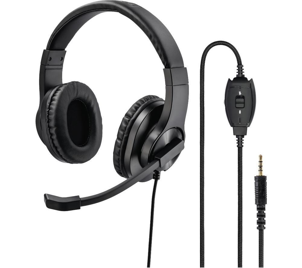 Image of HAMA HS-P350 Headset - Black, Black